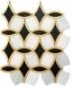 Napolean Chic FAR771 Geometric Metallic Mosaic Tile