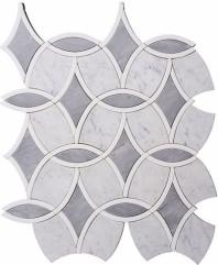 Blanc De Ville FAR772 Geometric Mosaic Tile