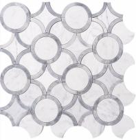 Nordic Spheres DLY41 Geometric Mosaic Tile