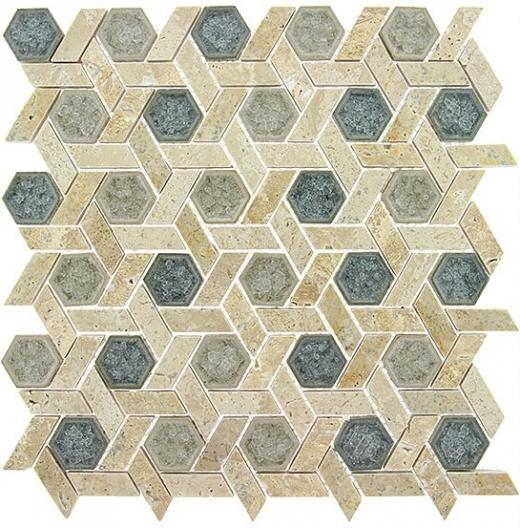 Tile Tranquil Hexagon Mansion Drive TS954