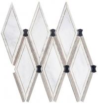 Herrera Ivory GNT507 Wood Look Mosaic Tile