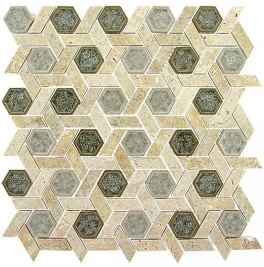 Glazzio Tranquil Hexagon Series Olympus Shade TS955