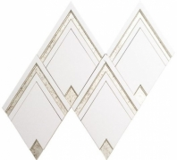 Zurich Royale SWL62 Geometric Metallic Mosaic Tile