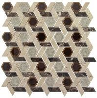 Glazzio Tranquil Hexagon Series Temple Inspiration TS956