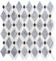 Glazzio Diamond Series Mugworth + Thassos White + Basalt DS57