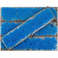 Bahari Brick Adriatic 3x12 Subway Lava Stone Tile