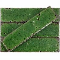 Bahari Brick Aegean 3x12 Subway Lava Stone Tile