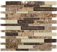Tile Tranquil Random Brick Mocha Canyon TS-941