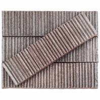 Kayoki Upland Dark Gray 2x9 Clay Subway Tile