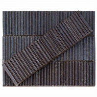 Kayoki Upland Dark Jeans 2x9 Clay Subway Tile