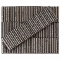 Kayoki Upland Gold 2x9 Clay Subway Tile