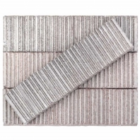 Kayoki Upland Light Gray 2x9 Clay Subway Tile