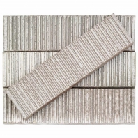 Kayoki Upland Matte White 2x9 Clay Subway Tile
