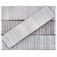 Kayoki Upland Polished White 2x9 Clay Subway Tile