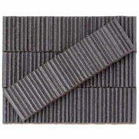 Kayoki Upland Silver 2x9 Clay Subway Tile