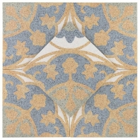 Novel Fontana Oro 9x9 Porcelain Moroccan Tile