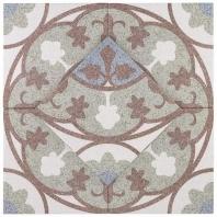 Novel Fontana Rojo 9x9 Porcelain Moroccan Tile