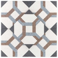 Novel Hofer 9x9 Porcelain Moroccan Tile