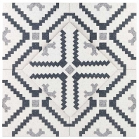 Novel Lempicka 9x9 Porcelain Moroccan Tile