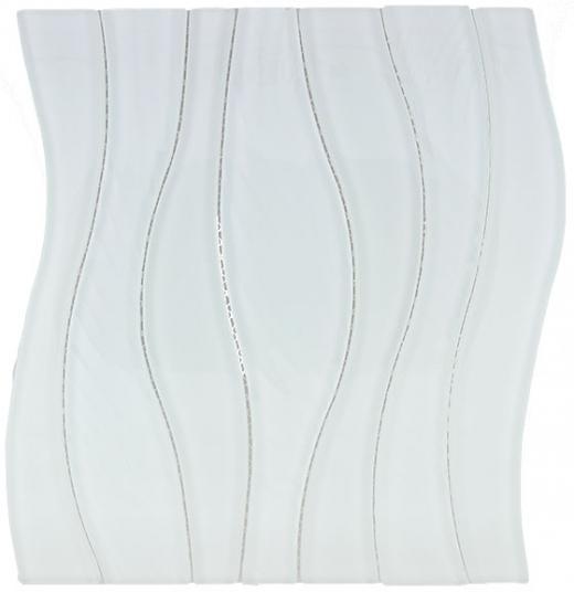 Buy Glass Tile Waterfall White Rose Ws 252 Homedecoraz Com
