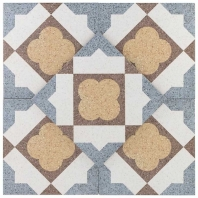 Novel Lawrie 9x9 Porcelain Moroccan Tile