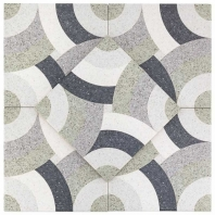 Novel Moser 9x9 Porcelain Moroccan Tile