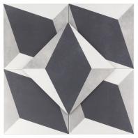 Havana Block 9x9 Porcelain Moroccan Tile