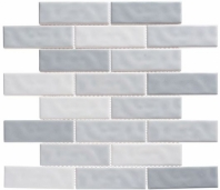 Harmony Series Fantasy Blue Brick Interlocking Tile