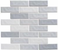 Harmony Series Fantasy Blue Brick Interlocking Tile