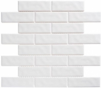 Harmony Series White Rock Brick Interlocking Tile