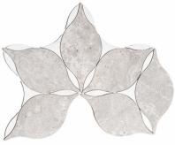 Whimsical Flowers Series Acacia Glauca Mosaic Tile