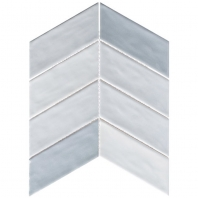 Harmony Series Octave Breeze Chevron Tile