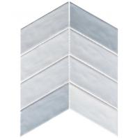 Harmony Series Octave Breeze Chevron Tile