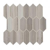Daltile Marble Attache Turkish Skyline Hexagon Mosaic Tile MA86