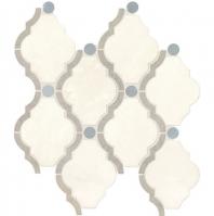 Daltile Empyrean Ice Blend Polished Mosaic Tile DA24FRMBARQMS1L