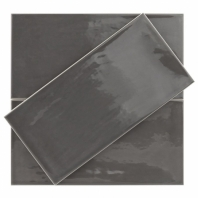 Atmosphere Black 5x10 Subway Tile TLCFATMSBLK5X10