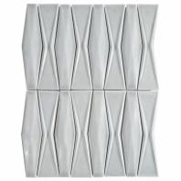 Baroque Adwick Grigio 3D Mosaic Tile BRQADWKGRIG