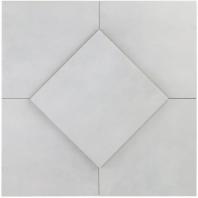 Hampton Floor Payne Grey 8x8 Moroccan Tile TLHRGHMPFLPG8X8