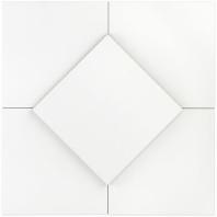 Hampton Floor White 8x8 Moroccan Tile TLHRGHMPFLWT8X8