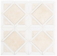 Wright Windows Series Dusk Warmth Waterjet Tile WRW104