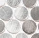 Urban Jungle Series Grey Chameleon Penny Round Tile UJ661
