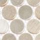 Urban Jungle Series Thunderburst Penny Round Tile UJ663