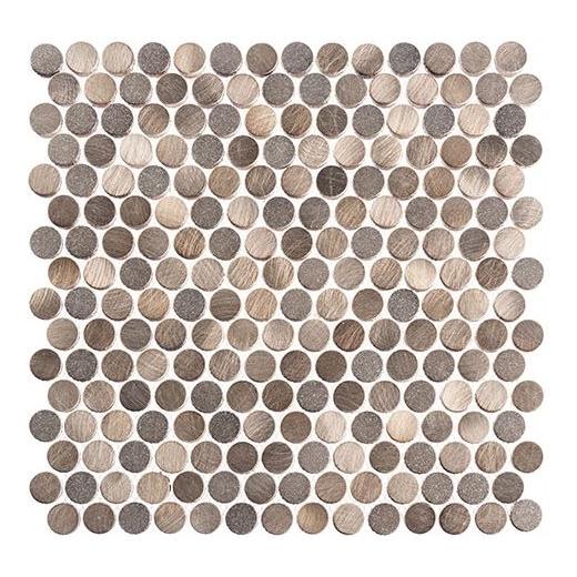 Urban Jungle Series Old Python Penny Round Tile UJ664