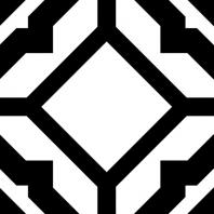 Retro Neuve Series Radiant Frame Moroccan Tile 9208