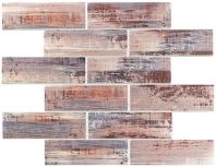 Painted Forest Series Gamet Slate Subway Tile PTF984