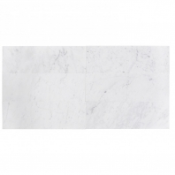 White Carrara 4x12 Polished Marble Subway Tile by Soho Studio WTCR4x12