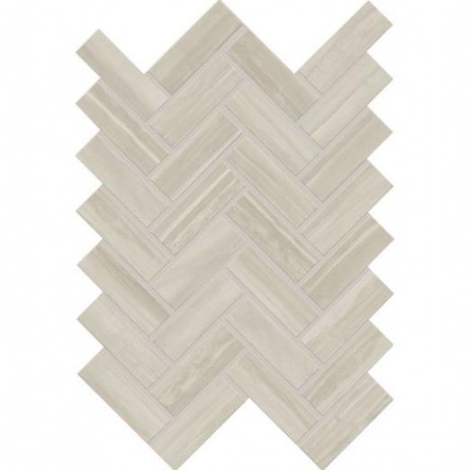 Daltile Elect Herringbone Beige Ceramic Tile- EL3113HERMS1P2