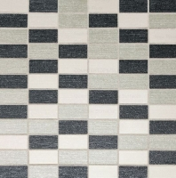 Daltile P267 PZAZZ Blend A Straight Joint Porcelain Tile