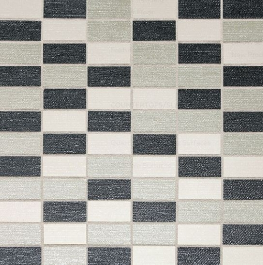 Daltile P267 PZAZZ Blend A Straight Joint Porcelain Tile