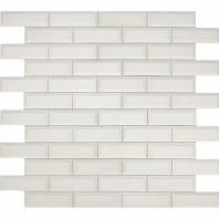 Daltile RV08 Revalia Bevel Centennial White Beveled Ceramic Tile